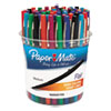 Flair Felt Tip Marker Pen, Assorted Ink, Medium, 48 Pens/Set