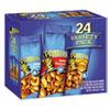Planters® Variety Pack Peanuts & Cashews, 1.75 oz/1.5 oz Bag, 24/Box PTN884624