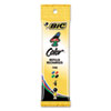 BIC® Refill for 4-Color Retractable Ballpoint, Fine, BLK, BE, GN, Red Ink, 4/Pack BICFRM41