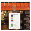 """C-Line® Magnetic Hanging Shop Ticket Holders, Clear, 75"""", 6 x 9, 15/Box CLI78069"""