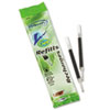 BIC® Refill for Gel Roller Ball, Medium, Black Ink, 2/Pack BICRRLCP21BK