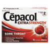 Cepacol® Extra Strength Sore Throat Lozenge, Cherry, 16/Box - 63824-71016