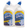 The Works® Disinfectant Toilet Bowl Cleaner, 32 oz Spray Bottle, 2/PK,6 PK/CT KIK33302WKCT