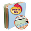 <strong>Smead®</strong><br />FasTab Hanging Folders, Letter Size, 1/3-Cut Tab, Assorted, 18/Box