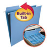<strong>Smead®</strong><br />FasTab Hanging Folders, Letter Size, 1/3-Cut Tab, Blue, 20/Box