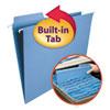 FasTab Hanging Folders, Letter Size, 1/3-Cut Tab, Blue, 20/Box