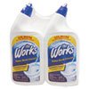 The Works® Disinfectant Toilet Bowl Cleaner, 32 oz Bottle, 2/Pack KIK33302WK