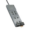 Belkin® Office Series SurgeMaster Surge Protector, 8 Outlets, 12 ft Cord, 3390 Joules BLKBE10823012
