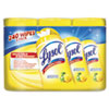 LYSOL® Brand Disinfecting Wipes, 7x8, Lemon and Lime Blossom, 80/Canister, 3/Pack, 2 Packs/CT RAC84251CT
