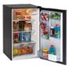 4.4 Cu.Ft. Auto-Defrost Refrigerator, 19.25 x 22 x 33, Black