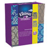 KLEENEX® Ultra Soft Facial Tissue, 3-Ply, White, 8.75 x 4.5, 75/Box, 4 Box/Pack KCC25830