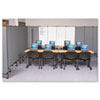 GreatDivide Wall System Markerboard Add-On Panel, 64w x 3d x 96h, Gray BLT74785