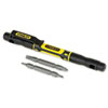 Stanley® 4 in-1 Pocket Screwdriver, Black - 66-344