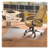 Cleartex Advantagemat Phthalate Free PVC Chair Mat for Hard Floors, 53 x 45