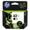 HP 62XL, (C2P05AN) High-Yield Black Original Ink Cartridge