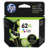 <strong>HP</strong><br />HP 62XL, (C2P07AN) High-Yield Tri-Color Original Ink Cartridge