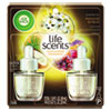 Air Wick® Life Scents Scented Oil Refills, Paradise Retreat, 0.67 oz, 2/Pack, 6 Pack/Ctn RAC91110