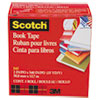 "Book Repair Tape, 2"" x 15yds, 3"" Core, Clear"