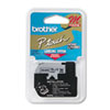 "Brother® P-Touch® M Series Tape Cartridge for P-Touch Labelers, 1/2""w, Black on Silver BRTM931"