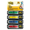 "<strong>Post-it® Flags</strong><br />Arrow 1/2"" Page Flags, Assorted Primary, 24/Color, 96-Flags/Pack"