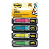 "<strong>Post-it® Flags</strong><br />Arrow 1/2"" Page Flags, Four Assorted Bright Colors, 24/Color, 96-Flags/Pack"