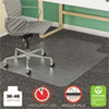 <strong>deflecto®</strong><br />SuperMat Frequent Use Chair Mat, Med Pile Carpet, Flat, 36 x 48, Lipped, Clear