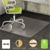 <strong>deflecto®</strong><br />DuraMat Moderate Use Chair Mat, Low Pile Carpet, Flat, 46 x 60, Rectangle, Clear