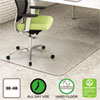 EnvironMat Recycled Anytime Use Chair Mat for Hard Floor, 36 x 48, Clear
