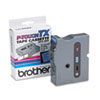 "<strong>Brother P-Touch®</strong><br />TX Tape Cartridge for PT-8000, PT-PC, PT-30/35, 1"" x 50 ft, Black on Blue"