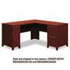 Bush® Enterprise Collection 60W x 60D L-Desk, Harvest Cherry (Box 1 of 2) BSH2930CSA103