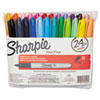 Fine Tip Permanent Marker, Assorted Colors, 24/Set