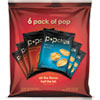 popchips® Potato Chips, BBQ/Sea Salt Flavor, .8 oz Bag, 6/Pack PPH21812PK