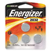 Energizer® Watch/Electronic/Specialty Battery, 2032, 3V, 4/Pack EVE2032BP4