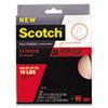 """Scotch™ Heavy Duty Fasteners, 1"""" x 10 ft, Clear MMMRF6760"""
