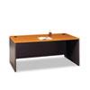 Bush® Series C Collection 72W Desk Shell, Natural Cherry BSHWC72436
