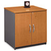 Bush® Series C Collection 30W Storage Cabinet, Natural Cherry BSHWC72496A
