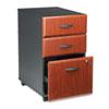 <strong>Bush®</strong><br />Mobile Box/Box/File Pedestal (Assembled) Series A, Hansen Cherry/Galaxy