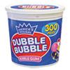 <strong>Dubble Bubble</strong><br />Bubble Gum, Original Pink, 300/Tub