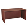 Basyx by HON BL Laminate Series Rectangular Desk Shell, 60w x 30w x 29h, Mahogany BSXBL2103NN