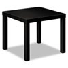 Basyx by HON Laminate Occasional Table, 24w x 24d x 20h, Black BSXBLH3170P