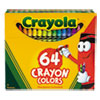 <strong>Crayola®</strong><br />Classic Color Crayons in Flip-Top Pack with Sharpener, 64 Colors
