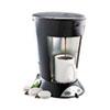 BUNN® My Cafe Pourover Commercial Grade Coffee/Tea Pod Brewer, Stainless Steel, Black BUNMCP