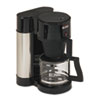 BUNN® 10-Cup Velocity Brew NHS Coffee Brewer, Black, Stainless Steel BUNNHS