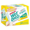 Antibacterial Moist Towelettes, Citrus, 3 3/5 x 7 1/2, White, 24/BX, 10 BX/CT