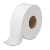 Boardwalk® JRT Bath Tissue, Jumbo, 2-Ply, White, 1000 ft/Roll, 12 Rolls/Carton BWK6100
