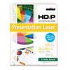 Boise® POLARIS Premium Laser Paper, 3-Hole, 97 Bright, 24lb, Letter, White. 500 Sheets CASBPL0111P