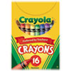 Classic Color Crayons, Tuck Box, 16 Colors
