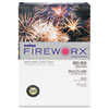 Boise® FIREWORX Colored Paper, 20lb, 11 x 17, Crackling Canary, 500 Sheets/Ream CASMP2207CY