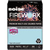 <strong>Boise®</strong><br />FIREWORX Premium Multi-Use Paper, 20lb, 8.5 x 11, Bottle Rocket Blue, 500/Ream