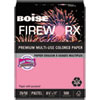 FIREWORX Premium Multi-Use Paper, 20lb, 8.5 x 11, Cherry Charge, 500/Ream